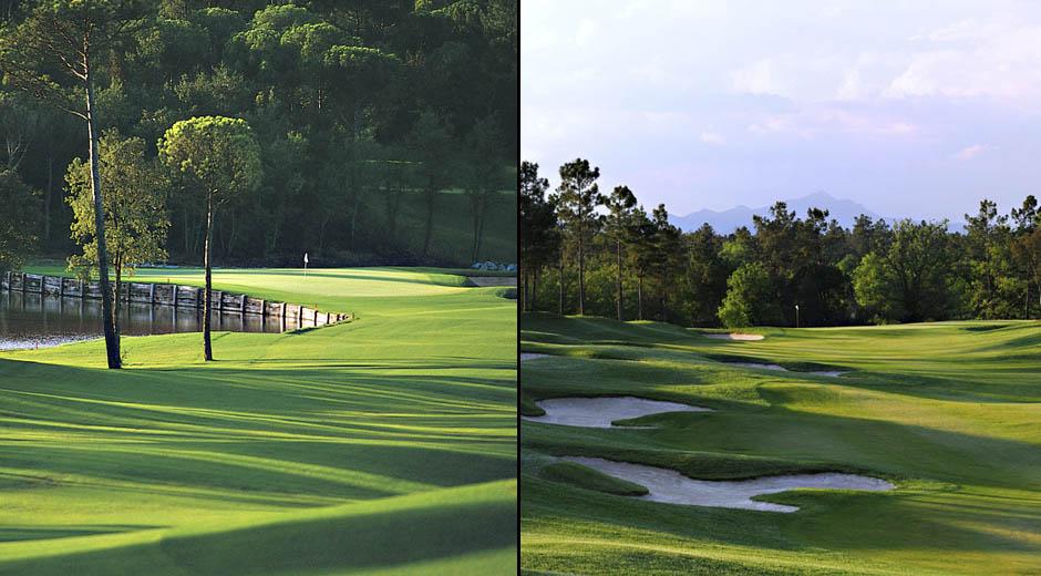PGA de Catalunyassa on 36 reikää: Stadium Course ja Tour Course. Spanish Open on pelattu täällä kolmesti.