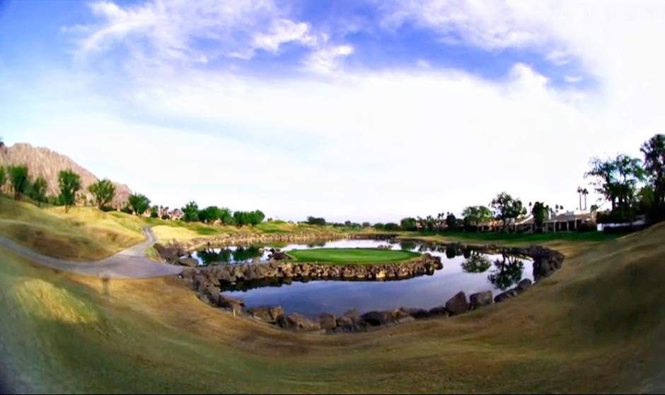 PGA Westin Stadium Coursen 17. reikä on toinen Pete Dyen kuuluisista saarirei'istä. Useimmat kilpapelaajat lähestyvät kohdetta rautaseiskalla tai -kasilla.