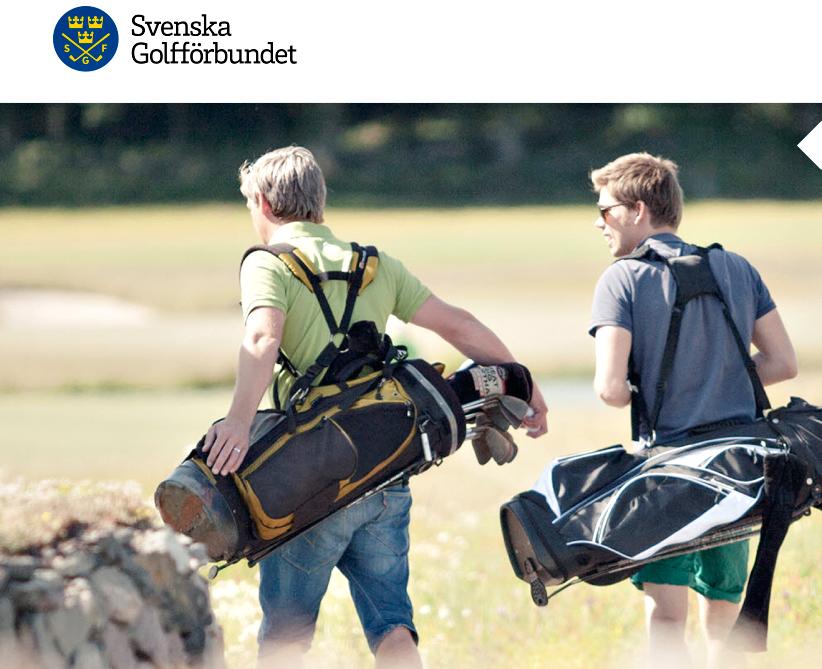 Kuvakaappaus kertoo, että Ruotsin Golfliitto ei tunnu potevan farkkukammoa.