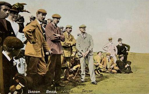 Harry Vardon, James Braid ja J. H. Taylor olivat 1800- ja 1900-lukujen vaihteen johtava kolmikko kilpagolfissa. Heille kuuluu kiitos myös PGA-toiminnan käynnistymisestä.