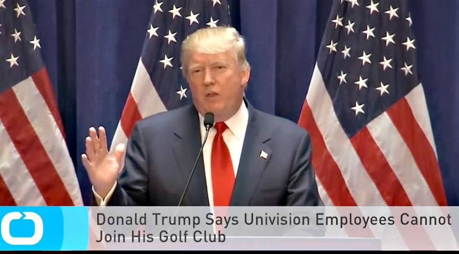 Donald Trump pidättää itselleen oikeuden päättää siitä, millaiset tulijat sopivat hänen golfklubinsa jäseniksi.