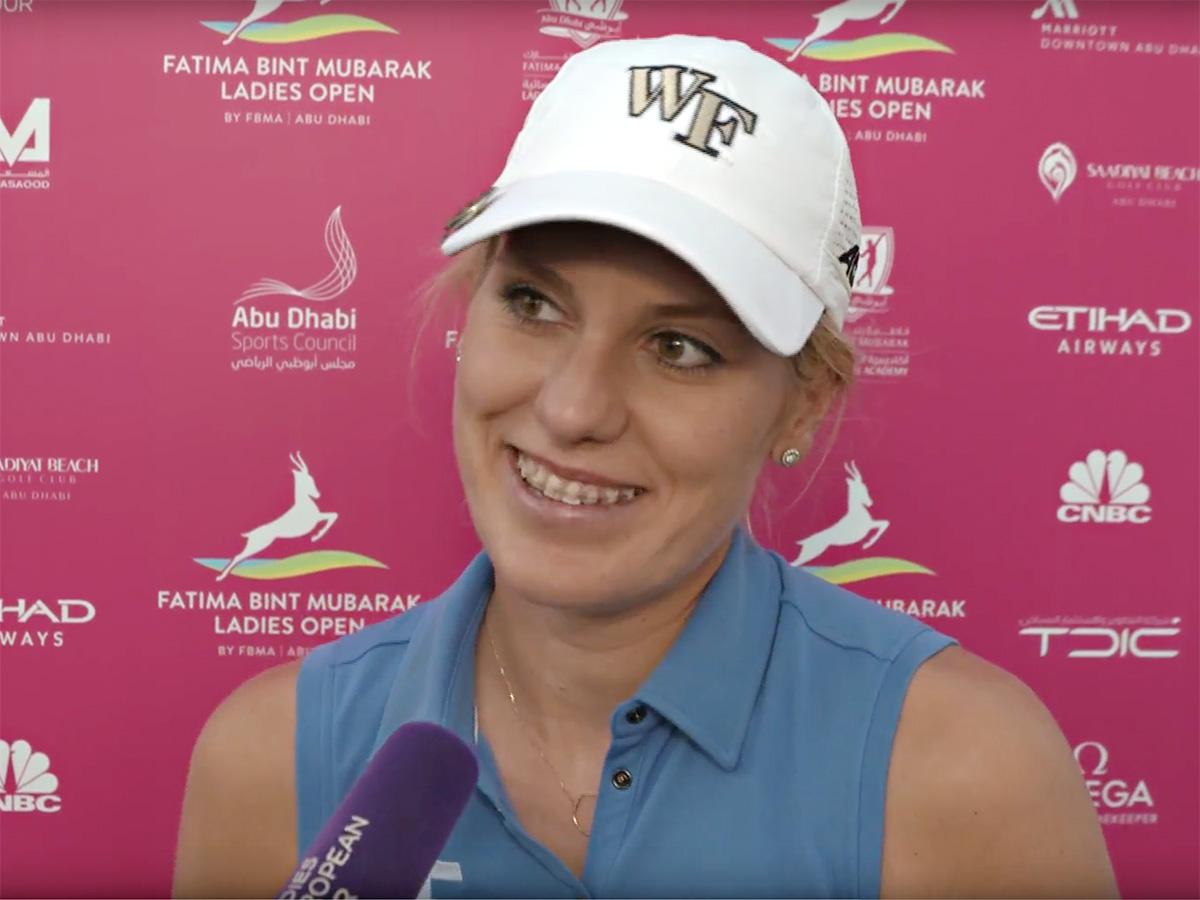Islannin Olafia Kristinsdottir pelaa alkavan kauden LPGA Tourilla.